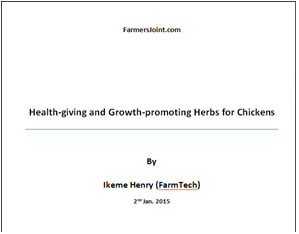 herbs for chickens ebook